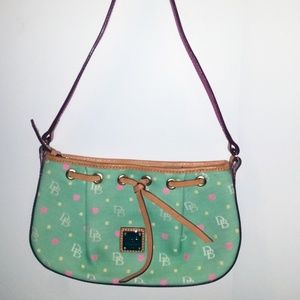 Dooney & Bourke Green/Pink Bag